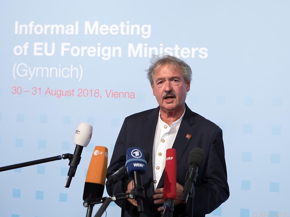 Asselborn sieht Glaubwürdigkeit der EU durch Österreich gefährdet