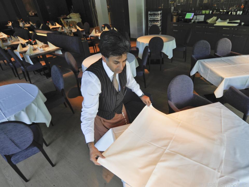 Auch der Kellner ist auf den Regionallisten gelandet