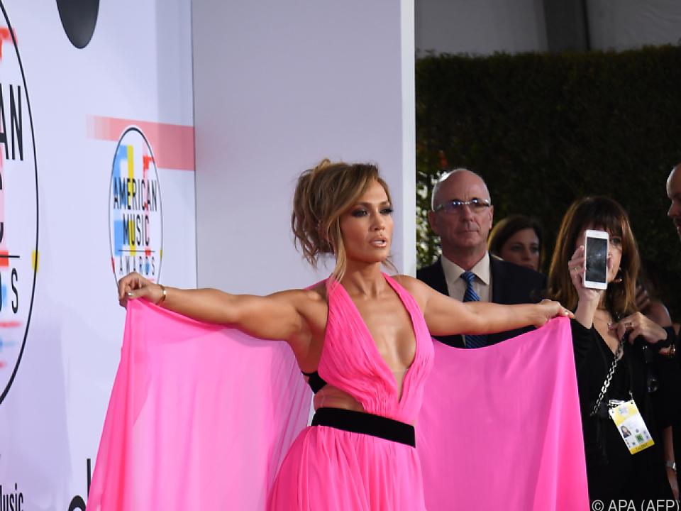 Auch Jennifer Lopez ist immer wieder unsicher
