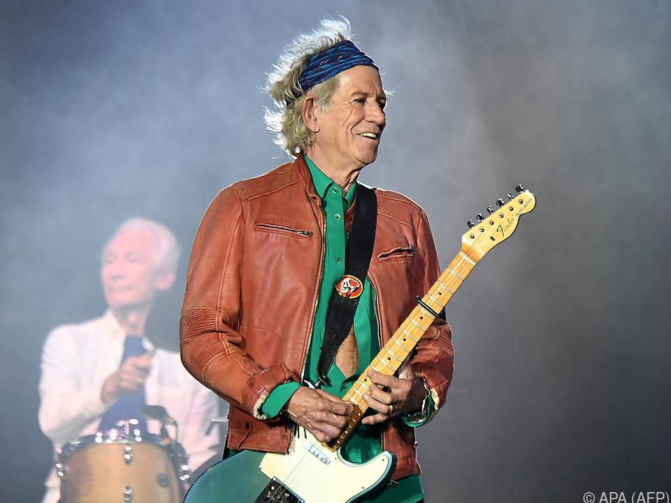 Auf der Bühne zu Hause: Keith Richards