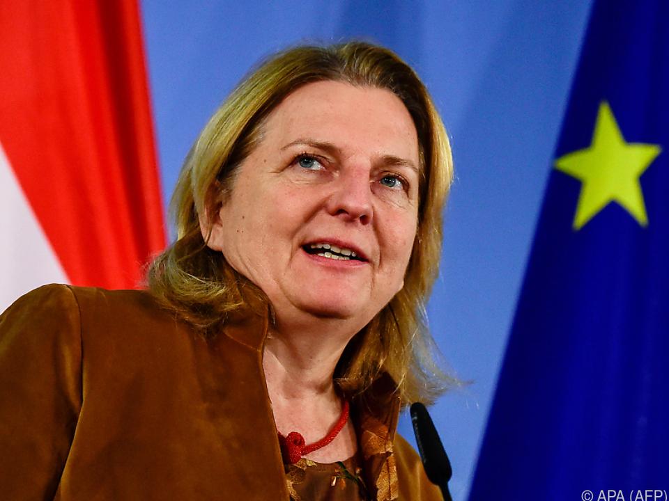 Außenministerin Kneissl ist in Israel nicht willkommen