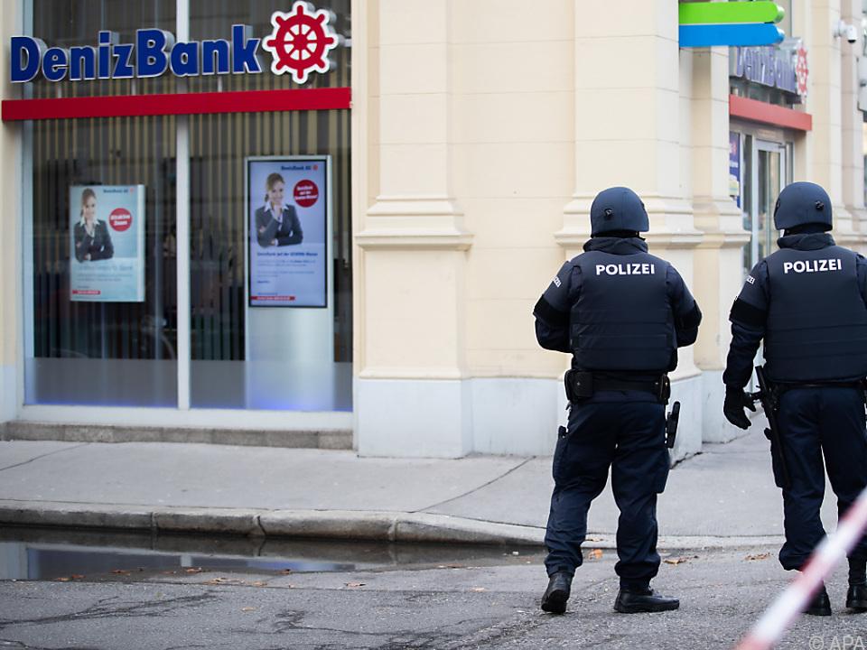 Banküberfall in der Wiener Innenstadt