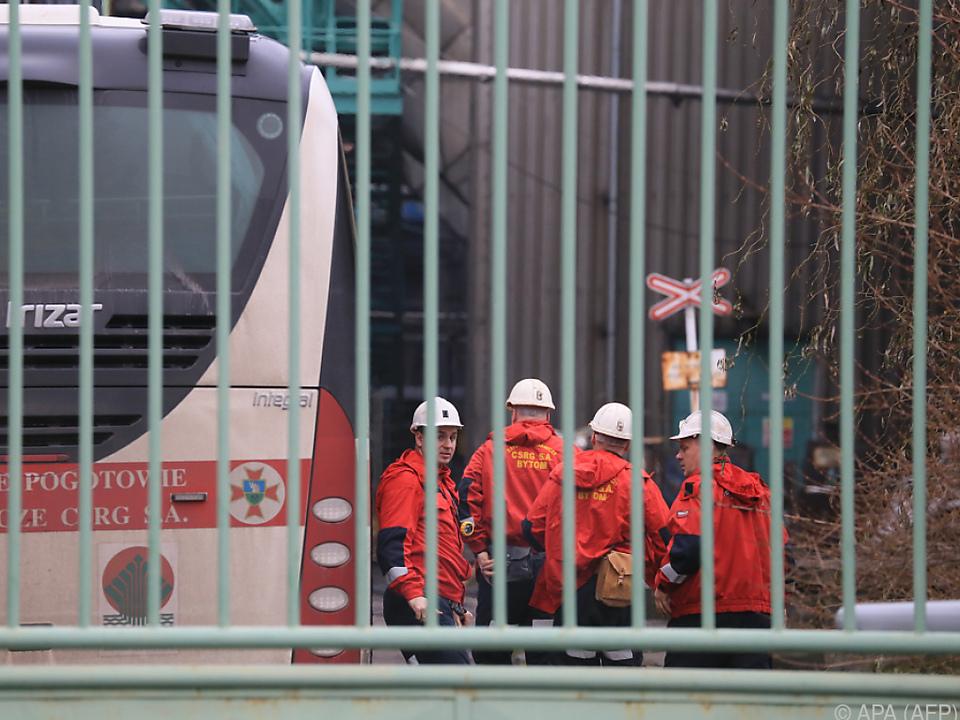 Bei dem Grubenunglück kamen mindestens 13 Menschen ums Leben