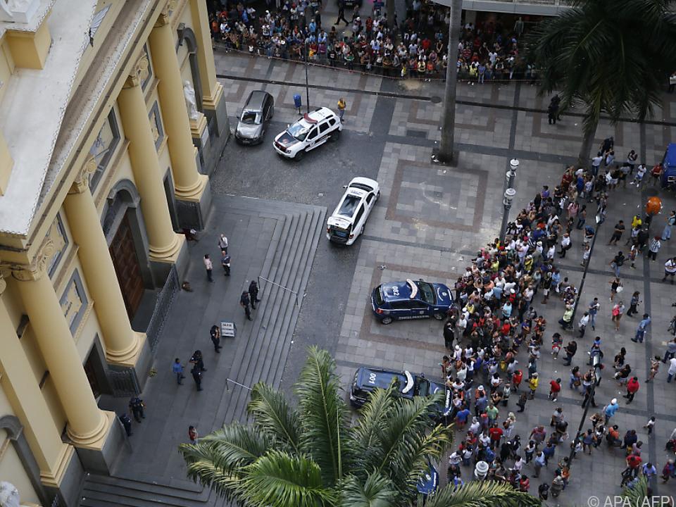 Bluttat in der Kathedrale von Campinas