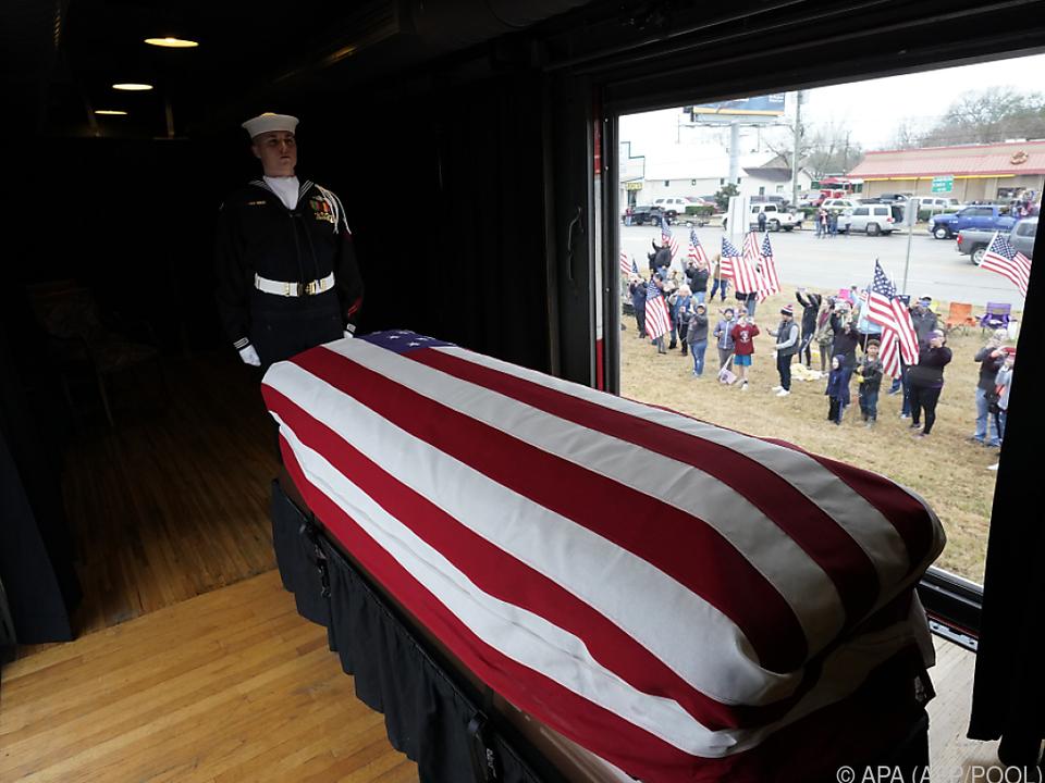 Bush war im Alter von 94 Jahren gestorben