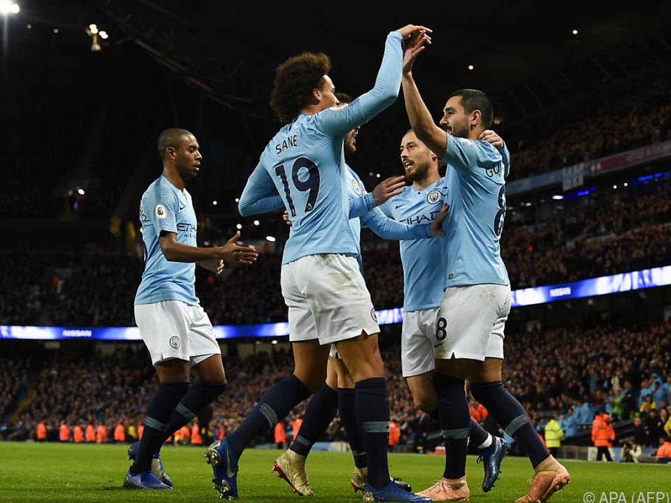 City feierte sechsten Ligasieg in Folge
