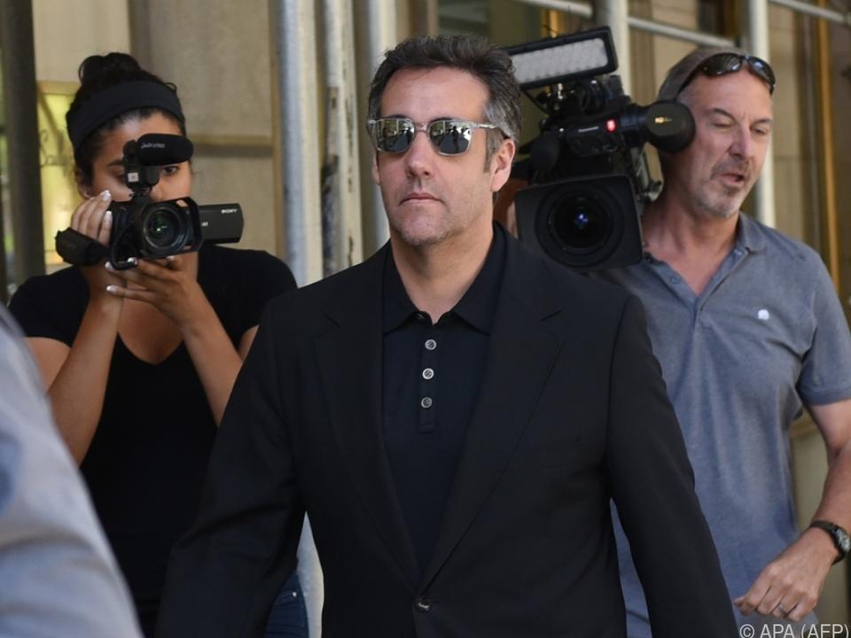 Cohen droht lange Haftstrafe