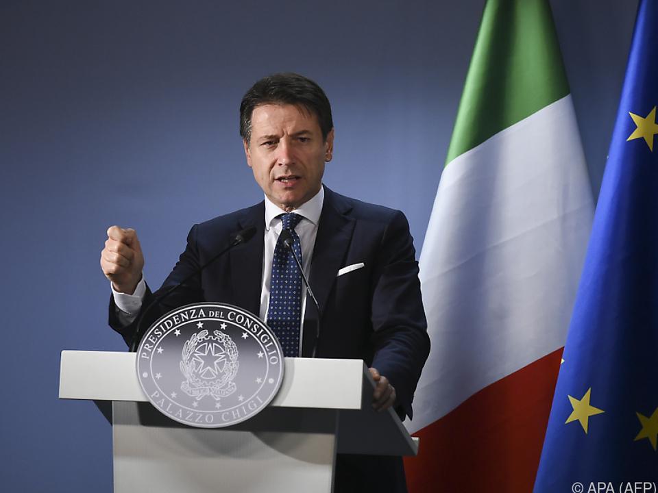 Conte muss Aufforderungen der EU umsetzen