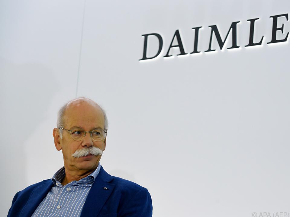 Daimler-Chef Dieter Zetsche reiste nach Washington