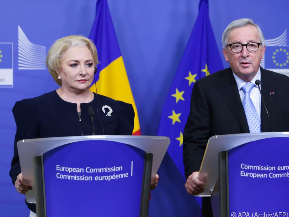 Dancilas Regierung findet Kritik aus Brüssel diskriminierend