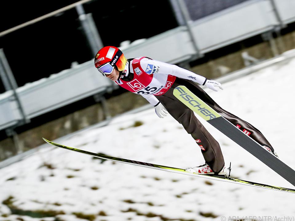 Daniela Iraschko-Stolz verpasste das Podium knapp