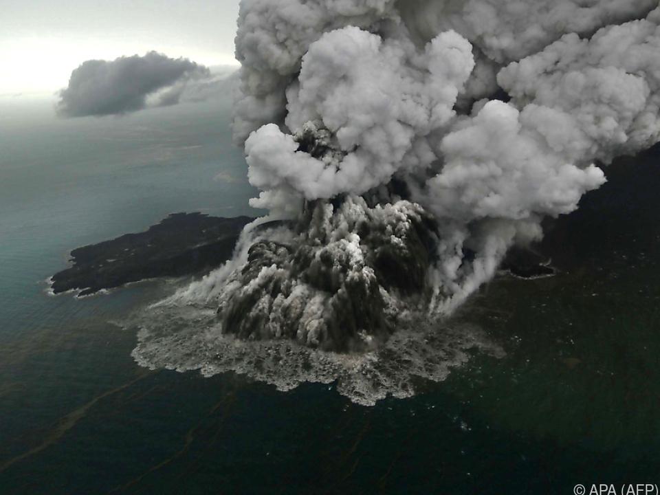 Der Krakatau kommt nicht zur Ruhe