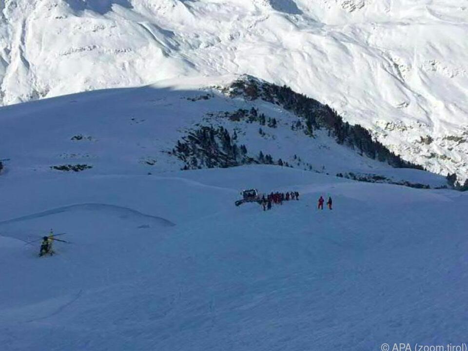 Der Unfall ereignete sich im freien Skiraum