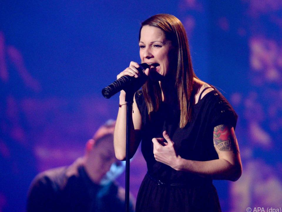 Die 36-jährige Sängerin ist Mutter