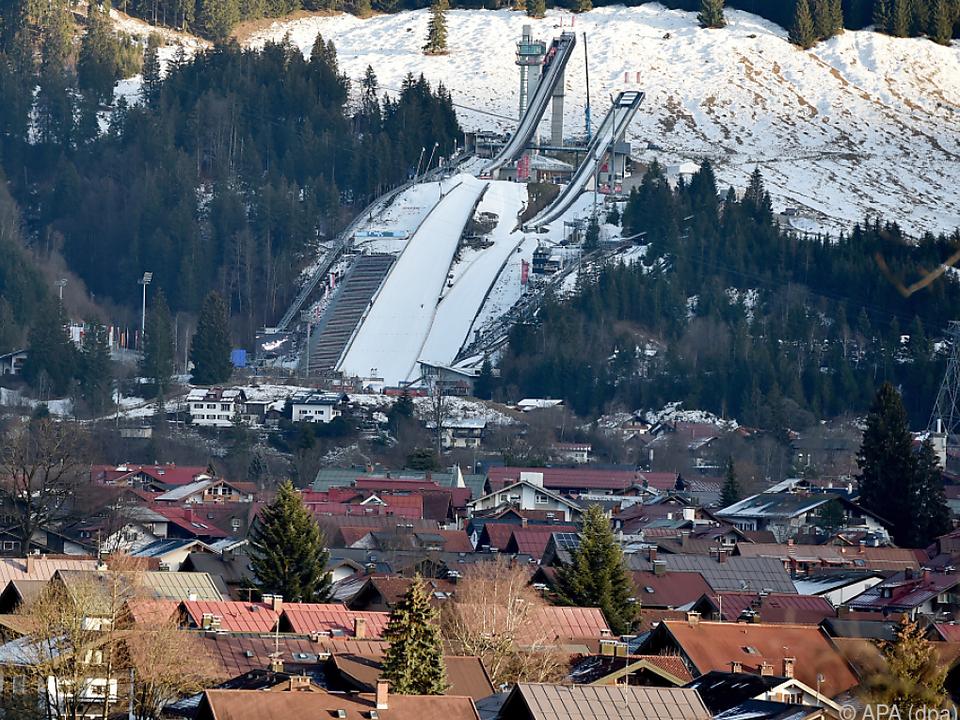 Die 67. Vierschanzentournee beginnt in Oberstdorf