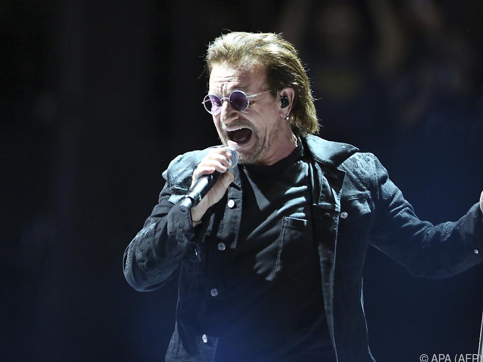 Die Band rund um Sänger Bono führt Forbes-Liste an