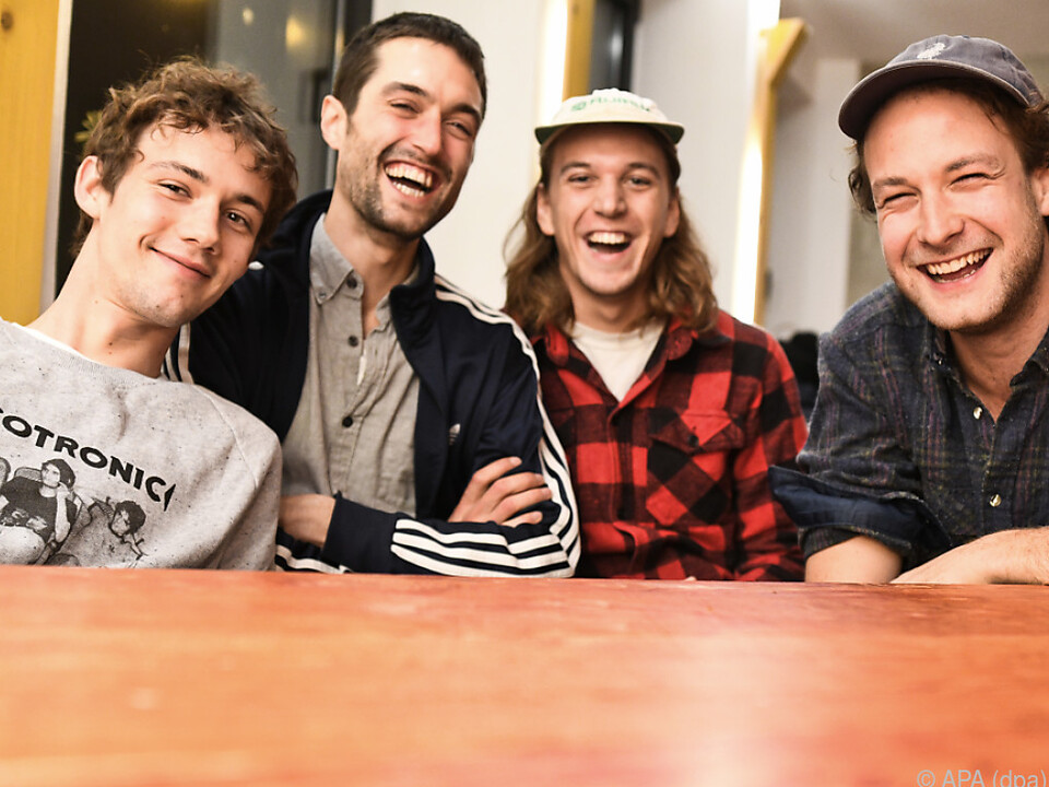 Die deutsche Band kommt auch nach Österreich