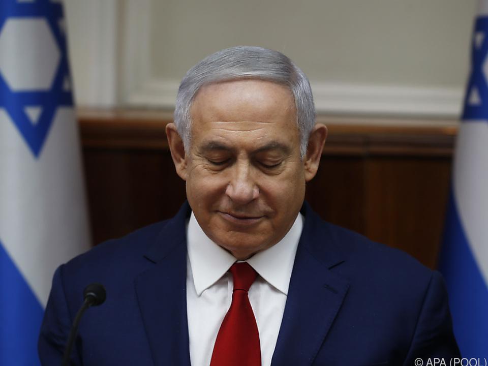Die Regierung von Premierminister Netanyahu steckt in der Krise