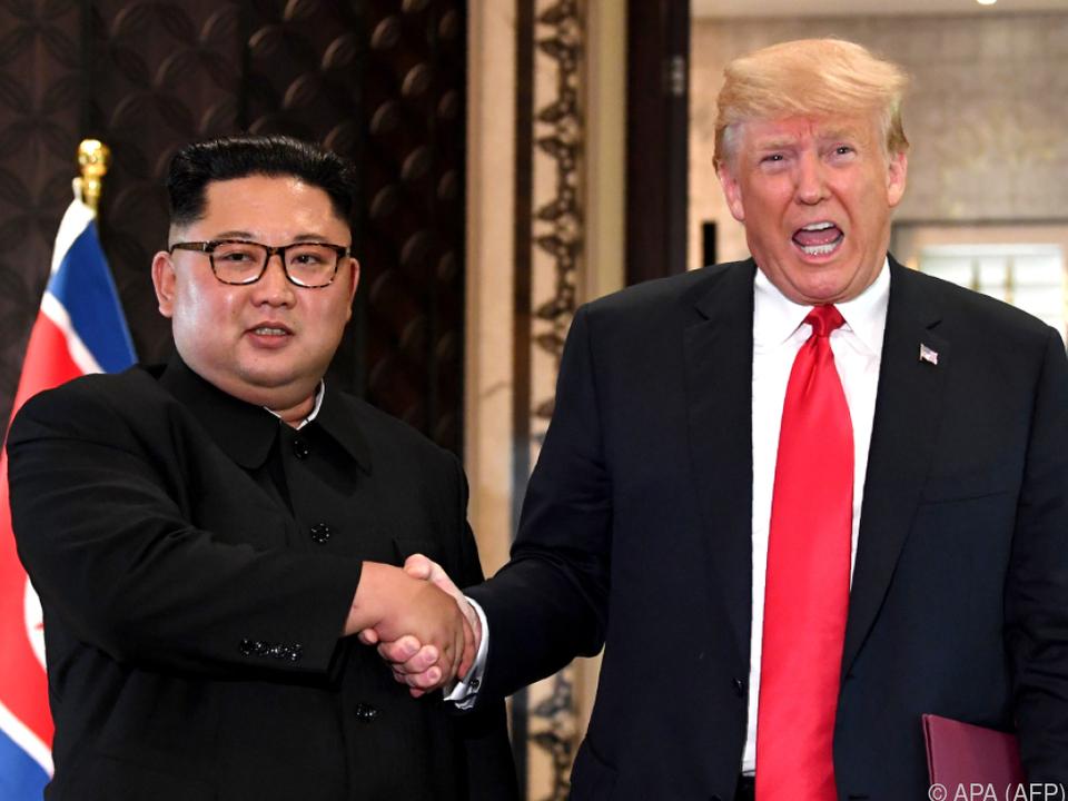 Die Stimmung zwischen Kim und Trump ist wieder etwas getrübt