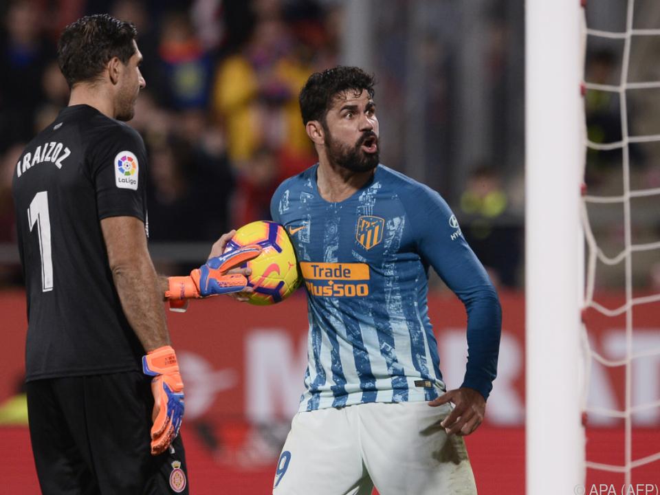 Diego Costa spielte seit einigen Wochen mit Schmerzen