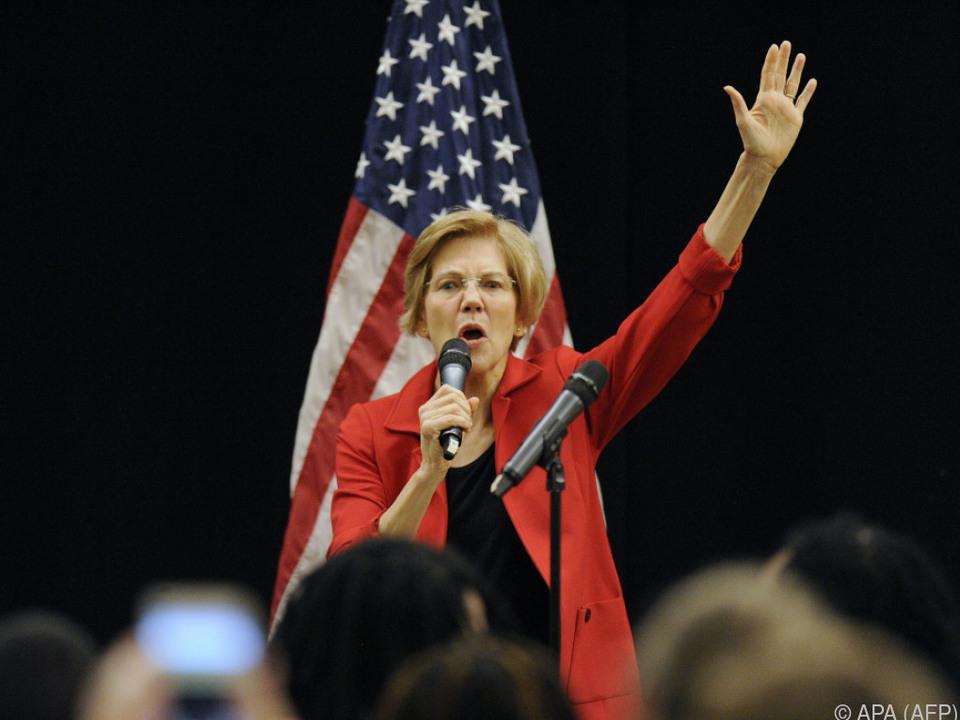 Elizabeth Warren lässt Chancen von Präsidentschaftskandidatur ausloten