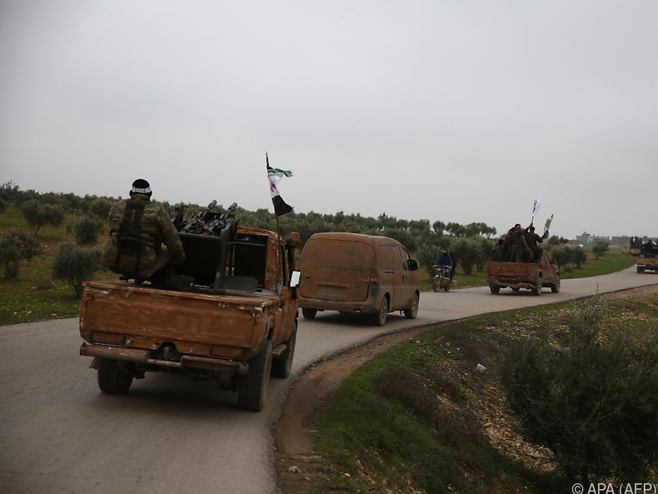 Erdogan hatte schon lange mit einer Offensive gegen die YPG gedroht