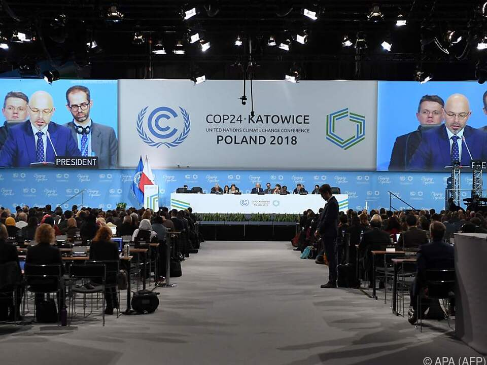 Eröffnung der Klimakonferenz in Kattowitz