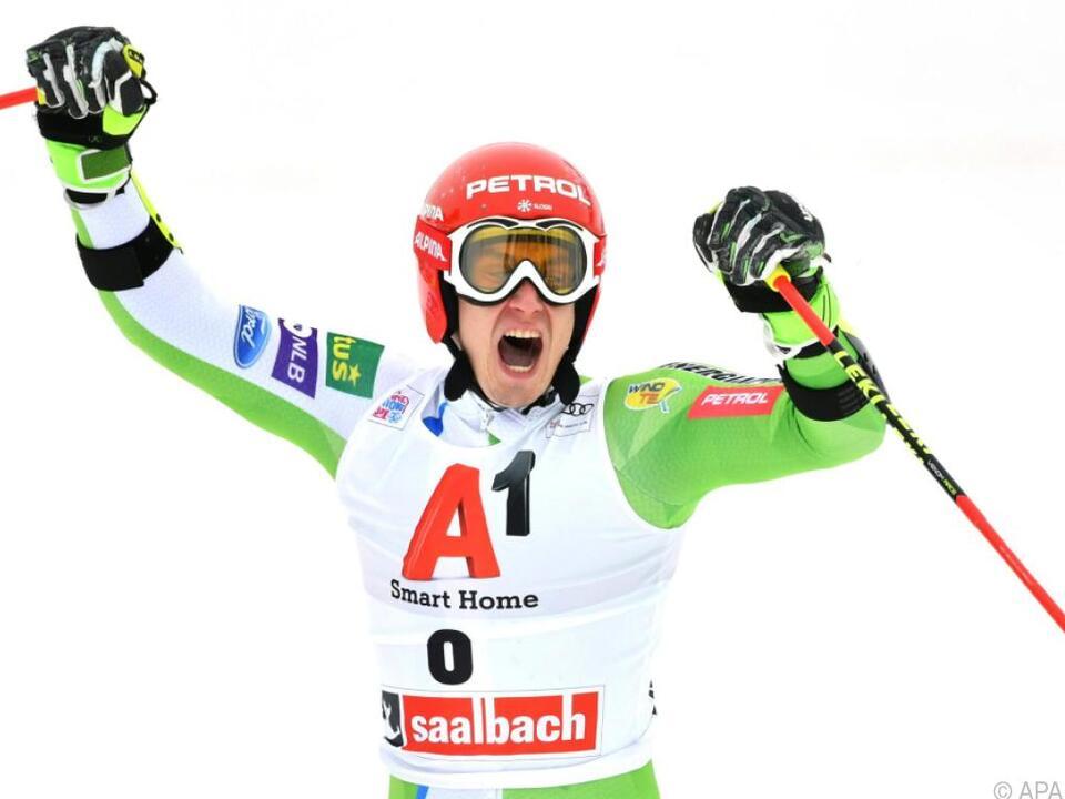 Erster Weltcupsieg für Zan Kranjec (SLO)