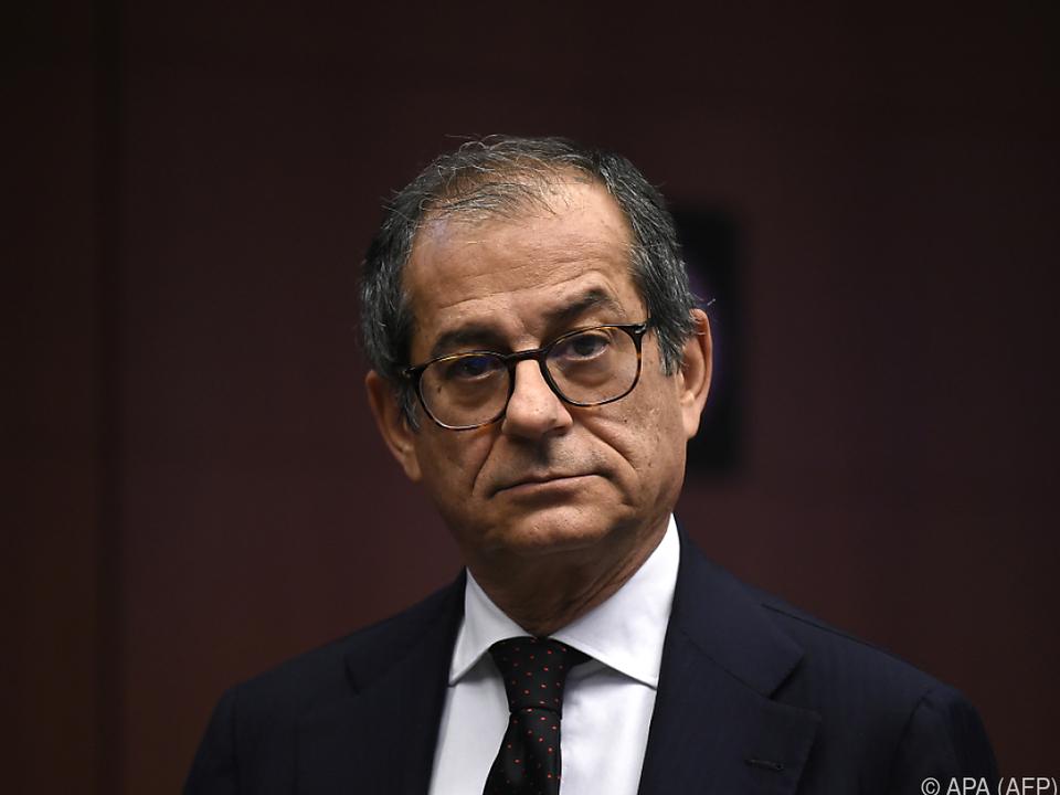 Finanzminister Tria will ein Defizitverfahren der EU verhindern