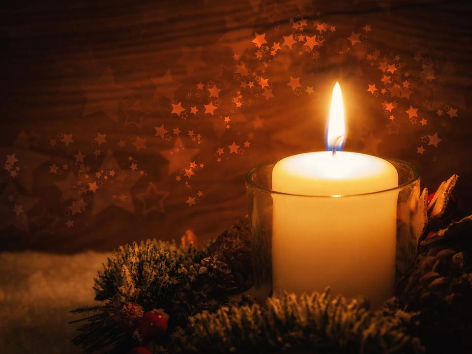 Friedenslicht Weihnachten