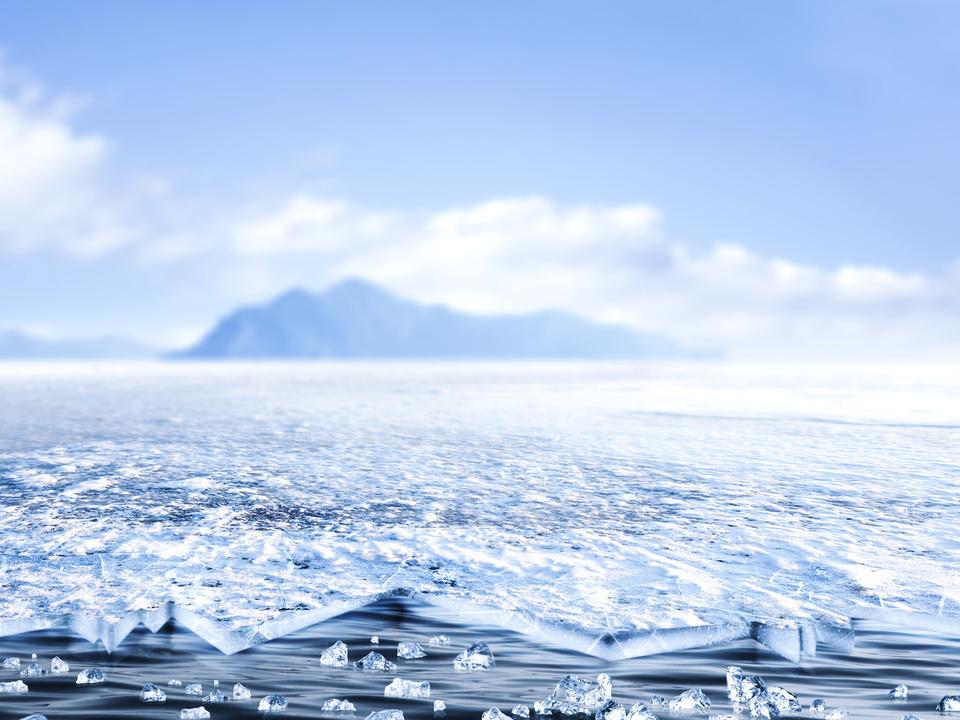 antarktis eis kälte sym