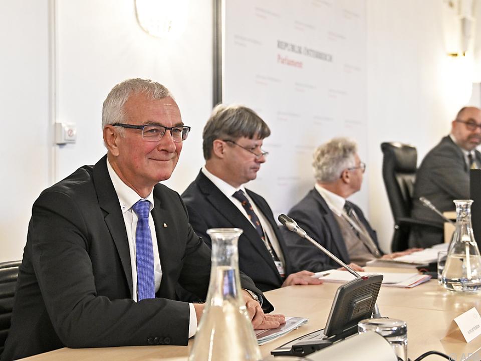 FPÖ-Landesrat Elmar Podgorschek im BVT-U-Ausschuss