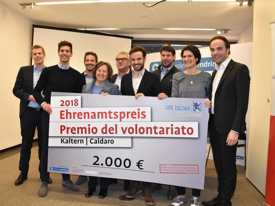 Gemeindenehrenamtspreis_Scheckübergabe