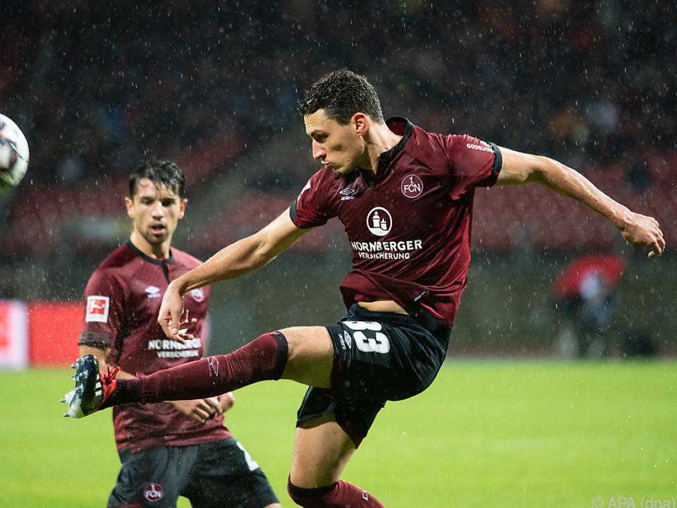 Georg Margreitter glich für den 1. FC Nürnberg aus