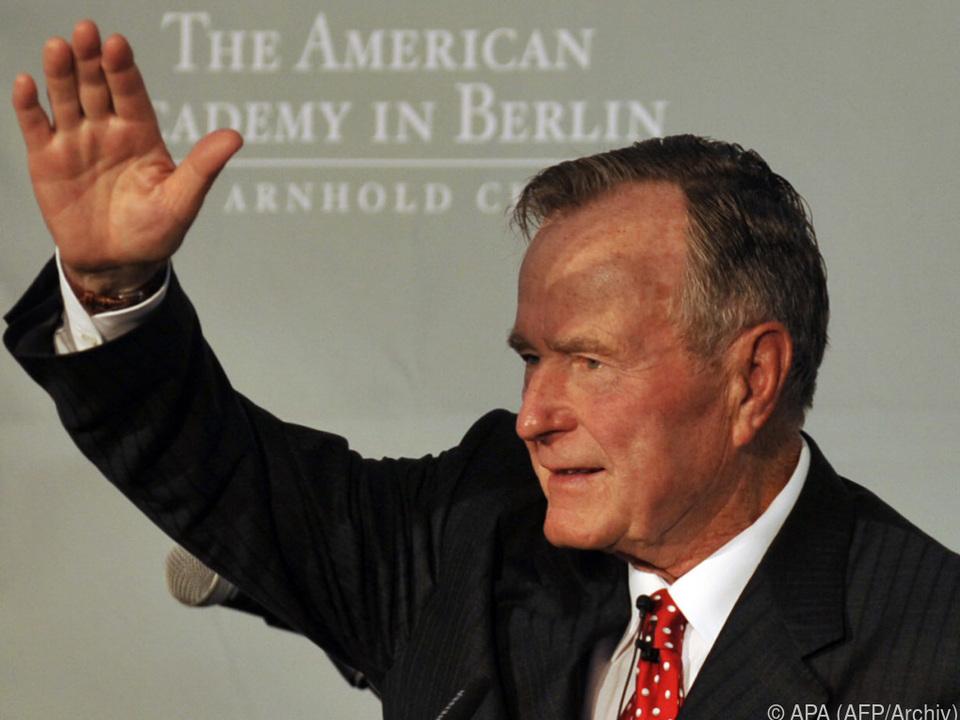 Geroge H.W. Bush regierte für eine Amtszeit
