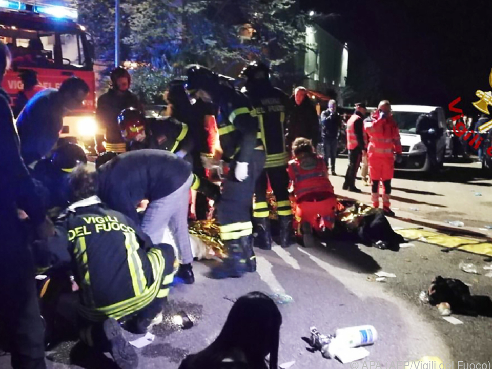 Großeinsatz der Rettungskräfte in Cornaldo