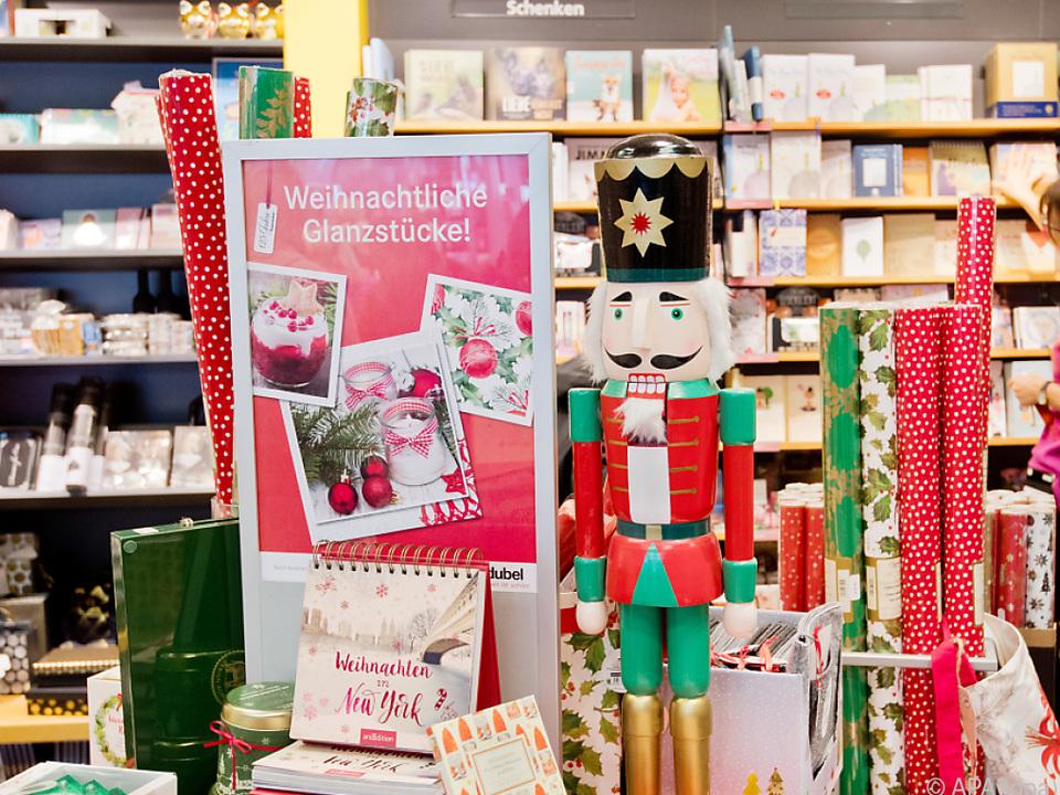 Gutes Weihnachtsgeschäft für den Buchhandel