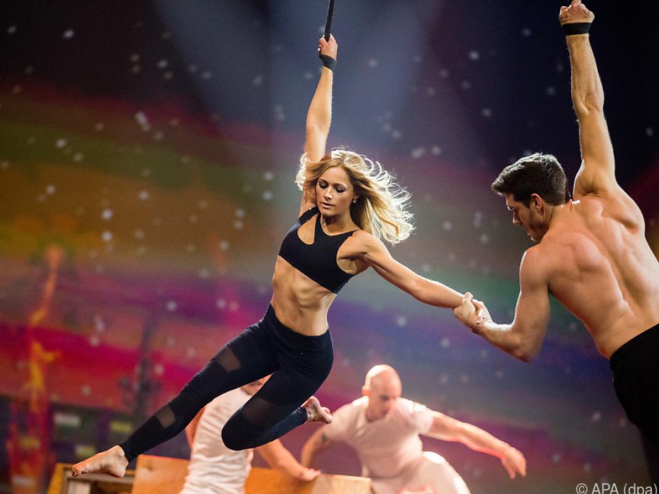 Helene Fischer mit Tänzer Thomas Seitel