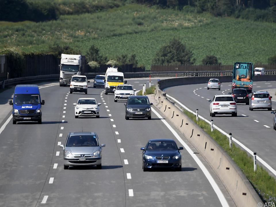 Immer mehr Verkehr auf Österreichs Straßen