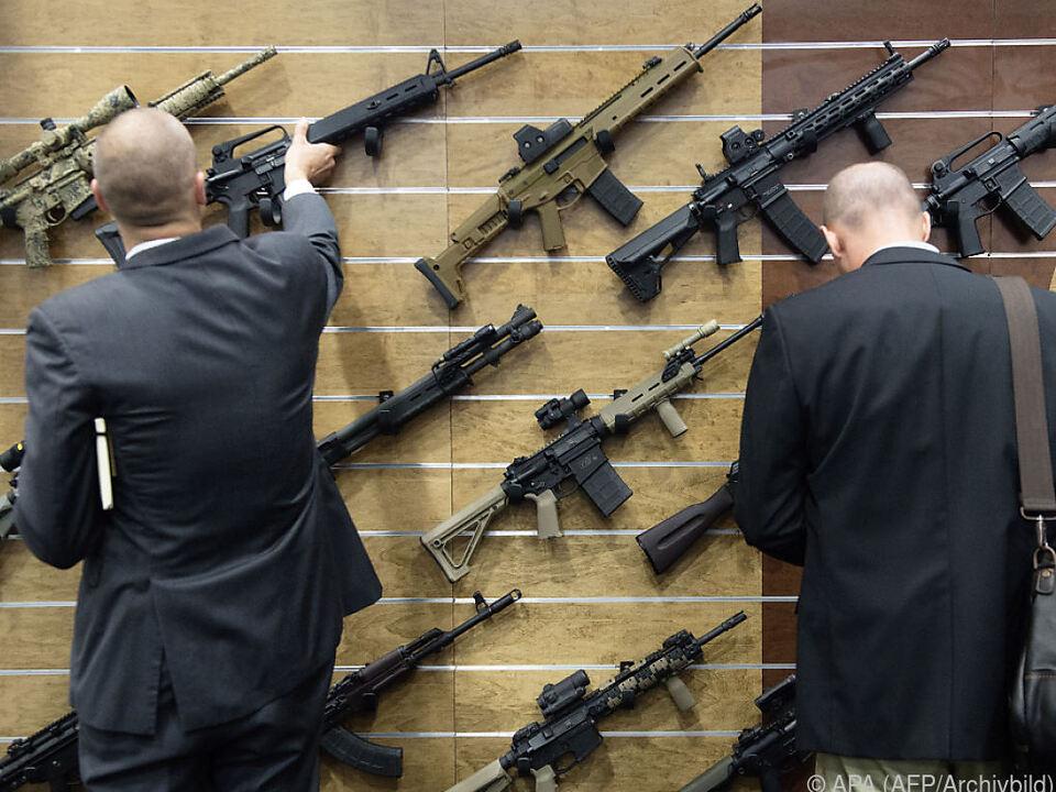 In Amerika werden noch immer die meisten Waffen produziert