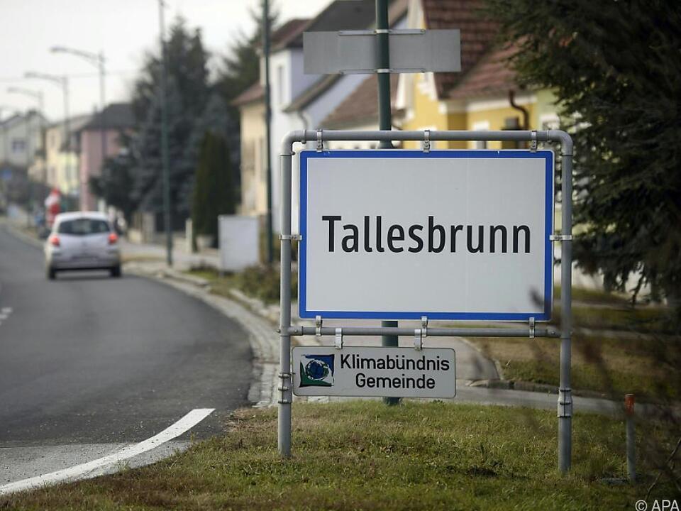 In Tallesbrunn wurde die Babyleiche gefunden