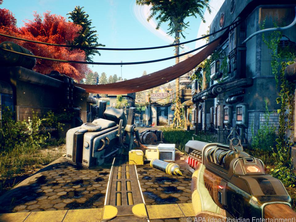 Spieler entscheiden über das Geschick einer Kolonie auf einem fernen Planeten