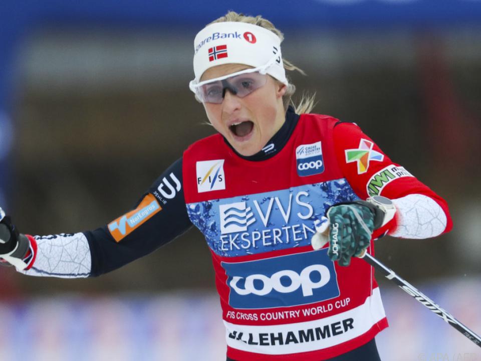 Johaug beherrscht Langlaufweltcup nach Dopingsperre