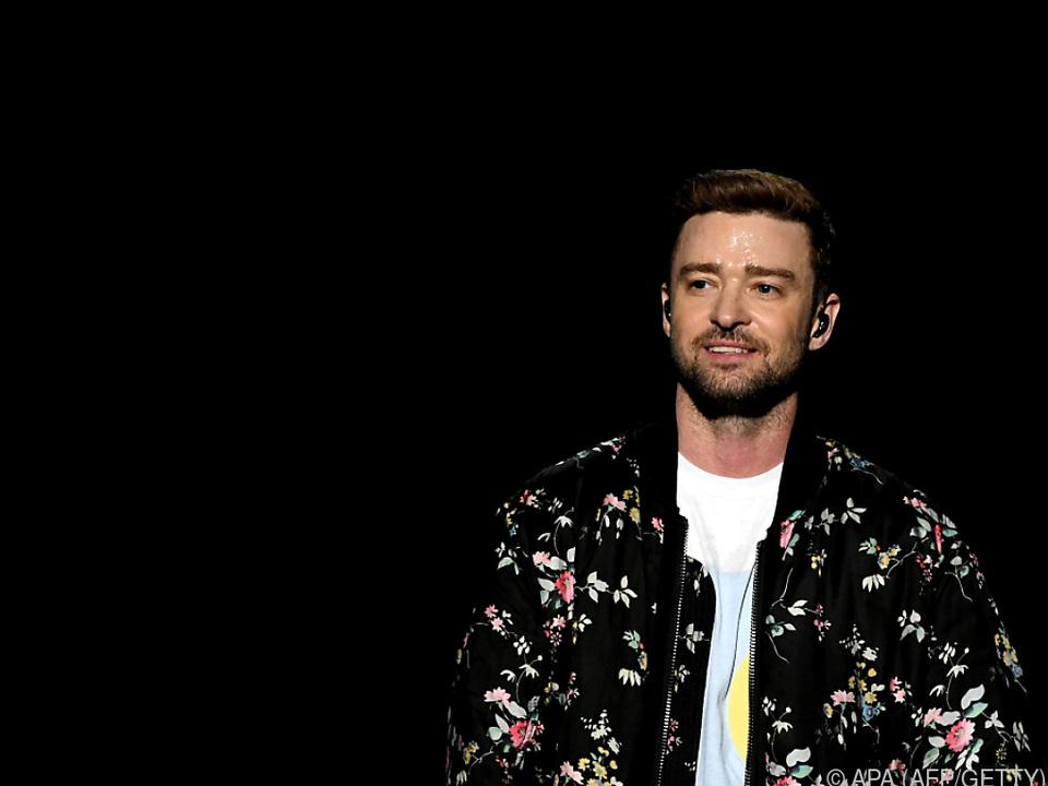 Justin Timberlake hat Probleme mit seinen Stimmbändern