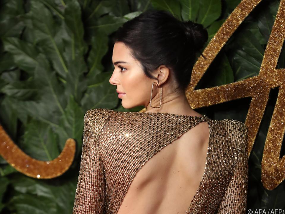 Kendall Jenner bei den British Fashion Awards in der Vorwoche