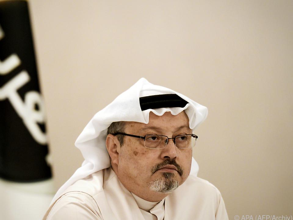 Khashoggi wurde Anfang Oktober im saudischen Konsulat getötet
