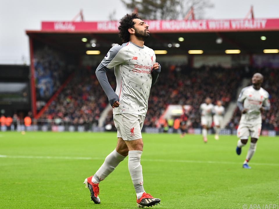 Liverpool hofft auf einen starken Salah