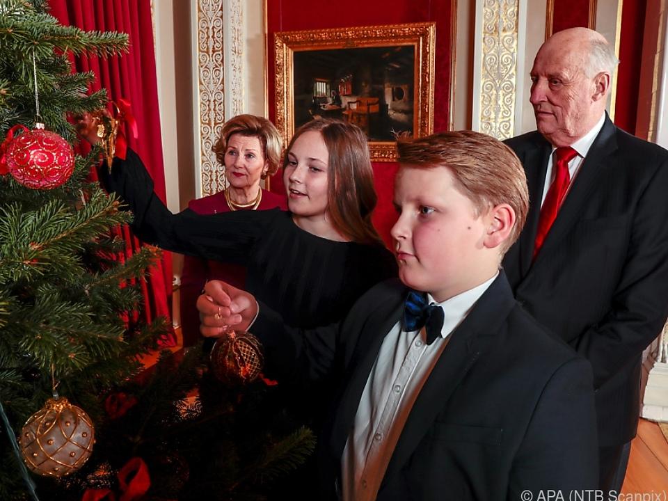 Magnus besucht seit 2014 die Montessorischule in Oslo