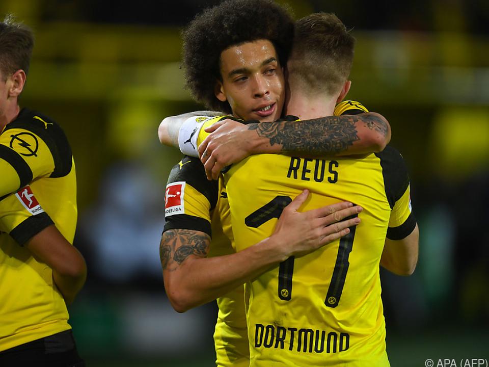 Marco Reus erzielte den 2:1-Siegtreffer für den BVB