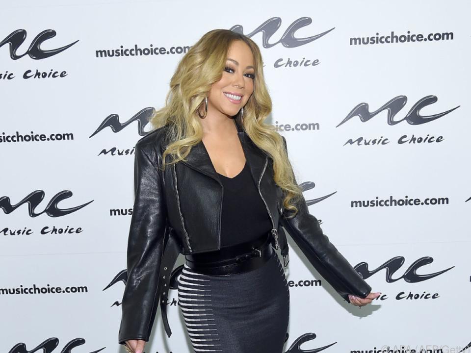 Mariah Carey feiert Weihnachten in Aspen